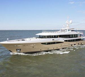 Amels delivers superyacht LILI in the Netherlands
