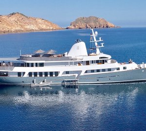Charter classic superyacht Menorca in the Balearic Islands