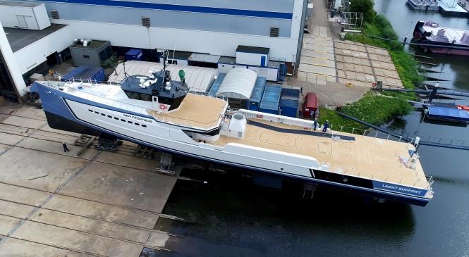 DAMEN shipyard launches NEW FRONTIERS