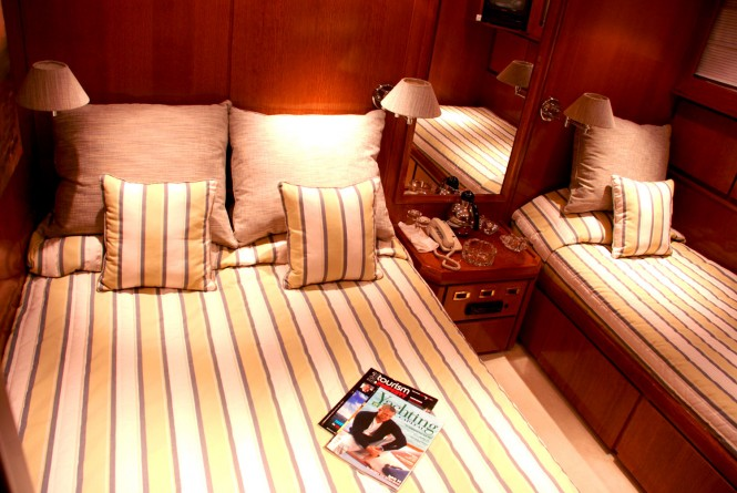 EVIDENCE double cabin with an additional single bed