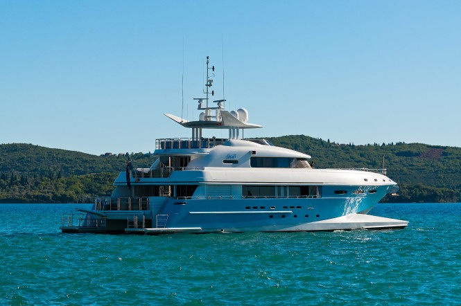 Luxury catamaran SPIRIT - Built by New Zealand Yachts