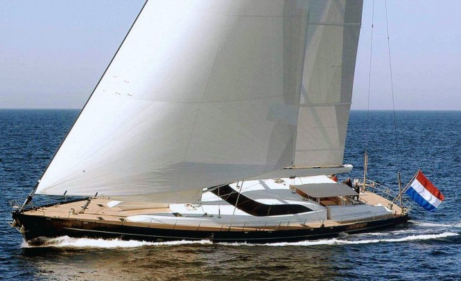 Luxury yacht BELLA RAGAZZA - Built by Vitters