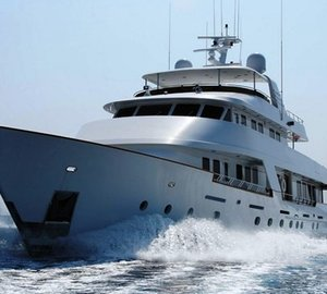 Luxury yacht Daydream ready for Norway charters