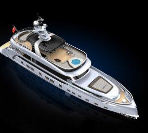 Construction update on the Dynamiq GTT 115 superyacht