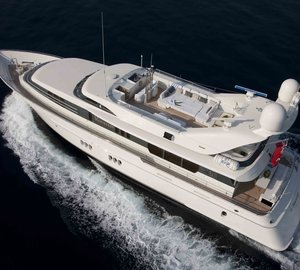 Charter superyacht La Mascarade in the Mediterranean