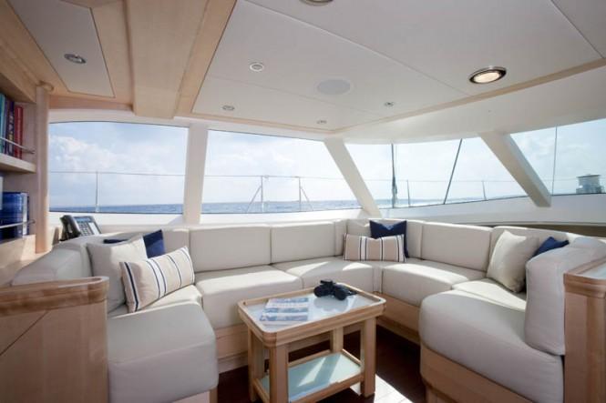 Luxury yacht NOSTROMO - Salon