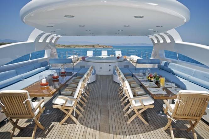 Luxury yacht O'NEIRO - Sundeck