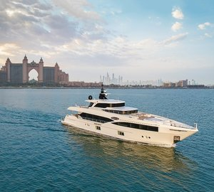 Majesty 100 superyacht Nahar delivered