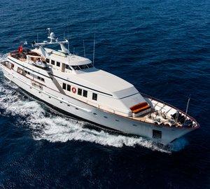 Luxury yacht Fiorente ready for Western Mediterranean charters