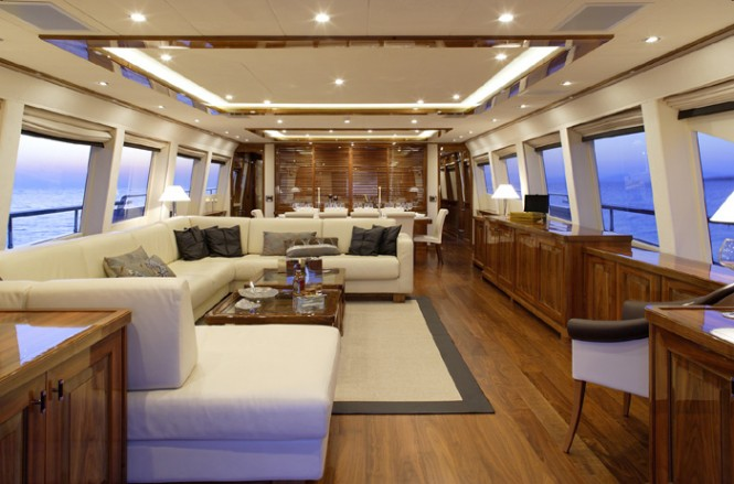 Motor yacht DRAGON - Salon