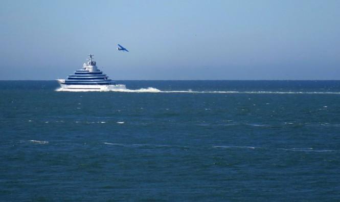 Oceanco mega yacht Jubilee. Photo credit Dutch Yachting
