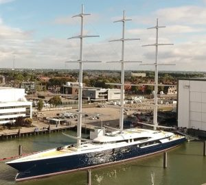 Video: Sailing yacht Black Pearl on sea trials