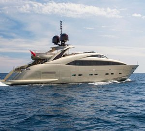 Charter luxury yacht Midnight Sun in the Mediterranean