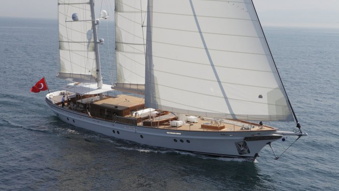 Sailing yacht IN LOVE - Built by Su Marine