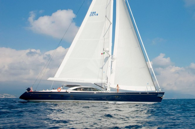Sailing yacht NOSTROMO - Built by Pendennis