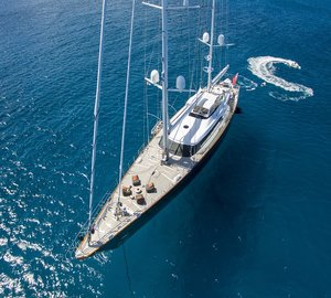 Sailing yacht Panthalassa ready for Mediterranean charters