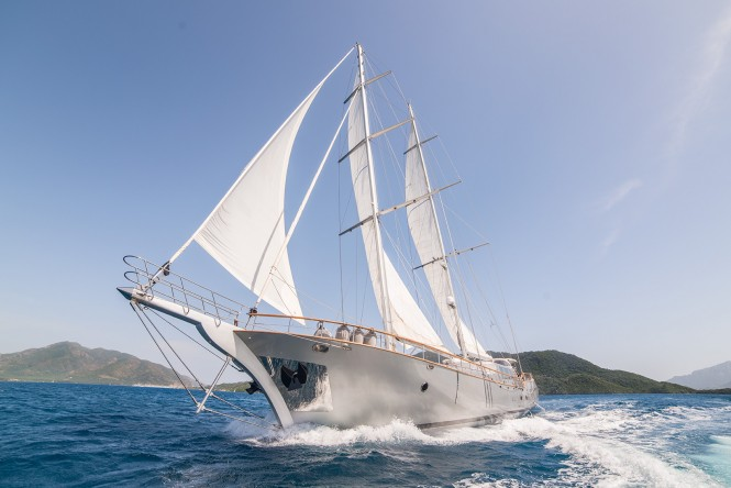 Sailing yacht SILVER MOON - Built by Kulach Yachts