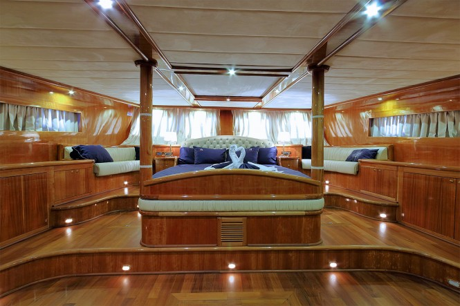 Sailing yacht SILVER MOON - Master suite