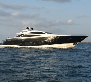 Charter luxury yacht Double D in the Western Mediterranean