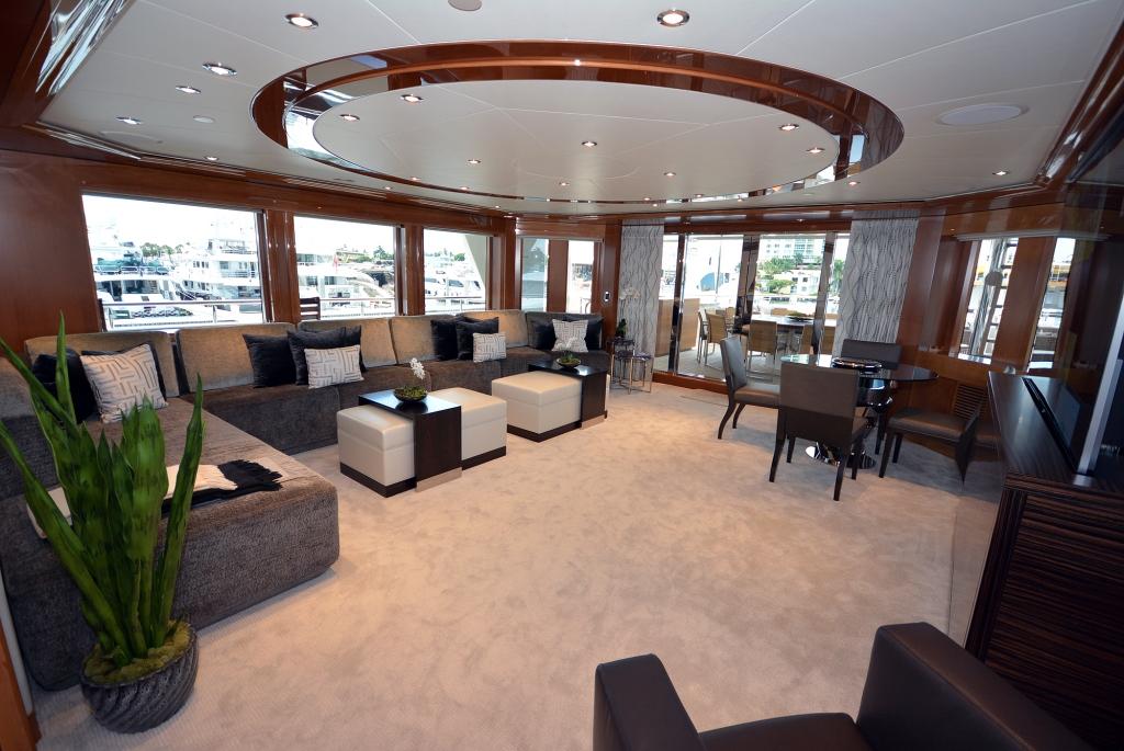 Superyacht AQUAVITA - Skylounge