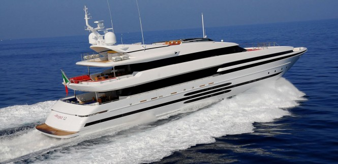 Superyacht BALISTA - (ex.PROJECT 12) - Built by Cantieri di Pisa