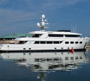Superyacht Baron Trenck available for charter in the Western Mediterranean