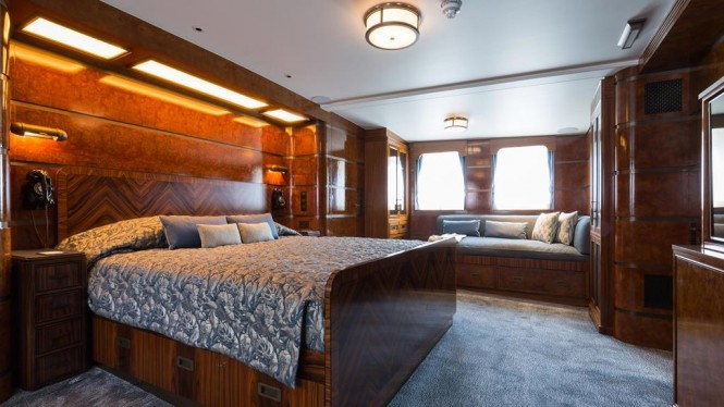 Superyacht MALAHNE - Guest cabin