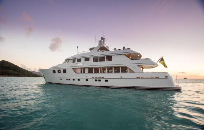 Superyacht MIM - Built by Burger Yachts