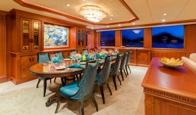 Superyacht MIM - Formal dining