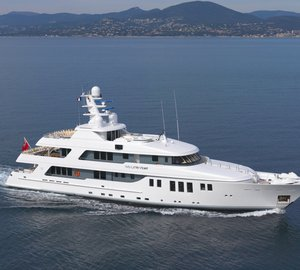 Charter superyacht My Little Violet throughout the Mediterranean