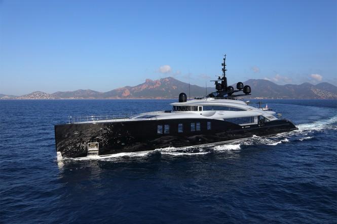 Superyacht OKTO - Built by ISA Yachts
