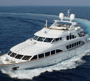 Superyacht Wild Thyme available for charter in the South of France