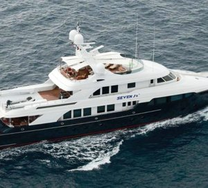 Take M/Y Wildflour on a charter through the wilderness of Alaska