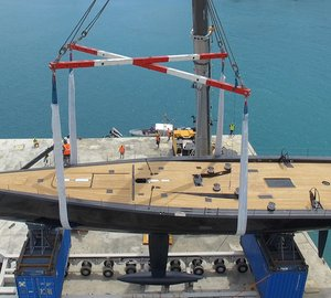 Wally announces the successful launch of sailing yacht Tango