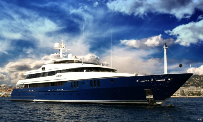 62m/203ft superyacht SARAH from Amels