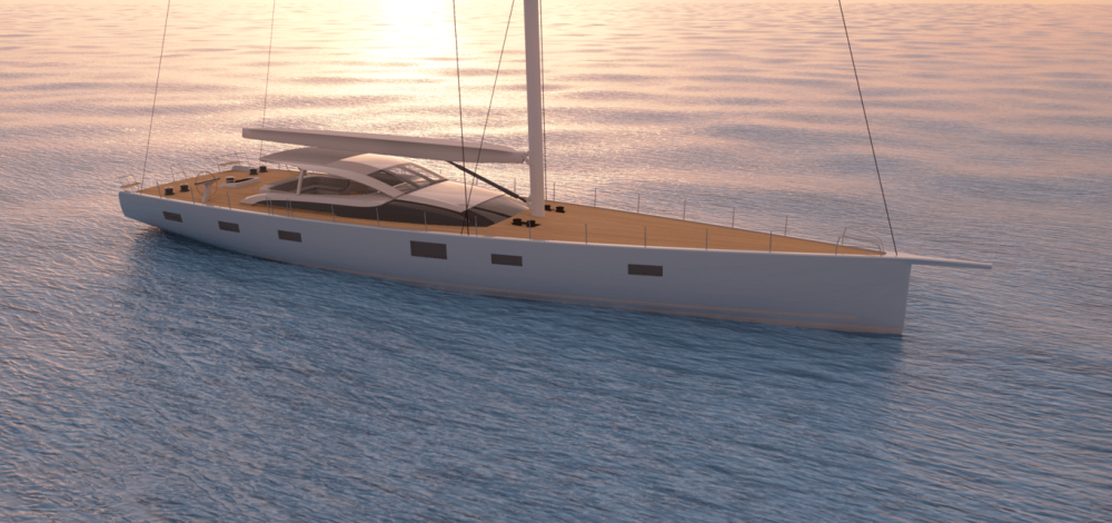 Baltic Yachts has revealed it is working on a Custom 112 sailing yacht