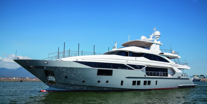 Benetti superyacht LEJOS 3, recently delivered to her owner