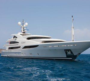 Charter 60m Benetti superyacht St David in the Western Mediterranean