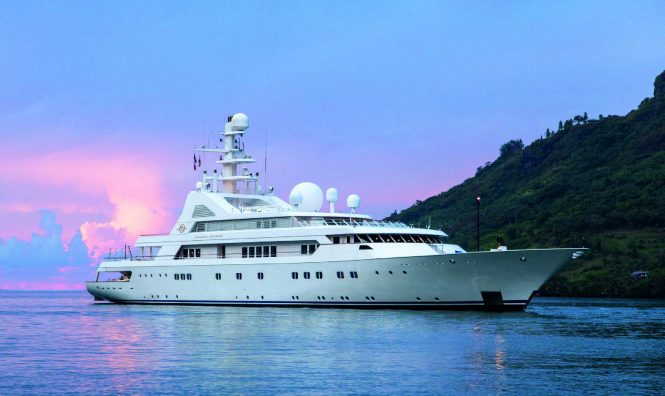 Blohm & Voss luxury yacht GRAND OCEAN - Carefully refurbished and featuring timeless styling from Alberto Pinto