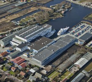 Video: Feadship hull YN701, 'Project Promise', shipped to Aalsmeer to continue construction
