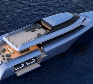 MC155 - The new Trimaran concept from Design Unlimited