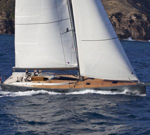 Charter award-winning sailing yacht Aegir II in the Western Mediterranean