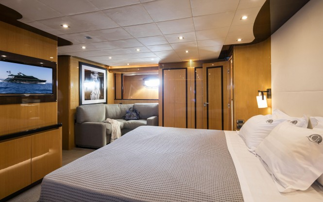 Luxury yacht CAN'T REMEMBER - Master stateroom