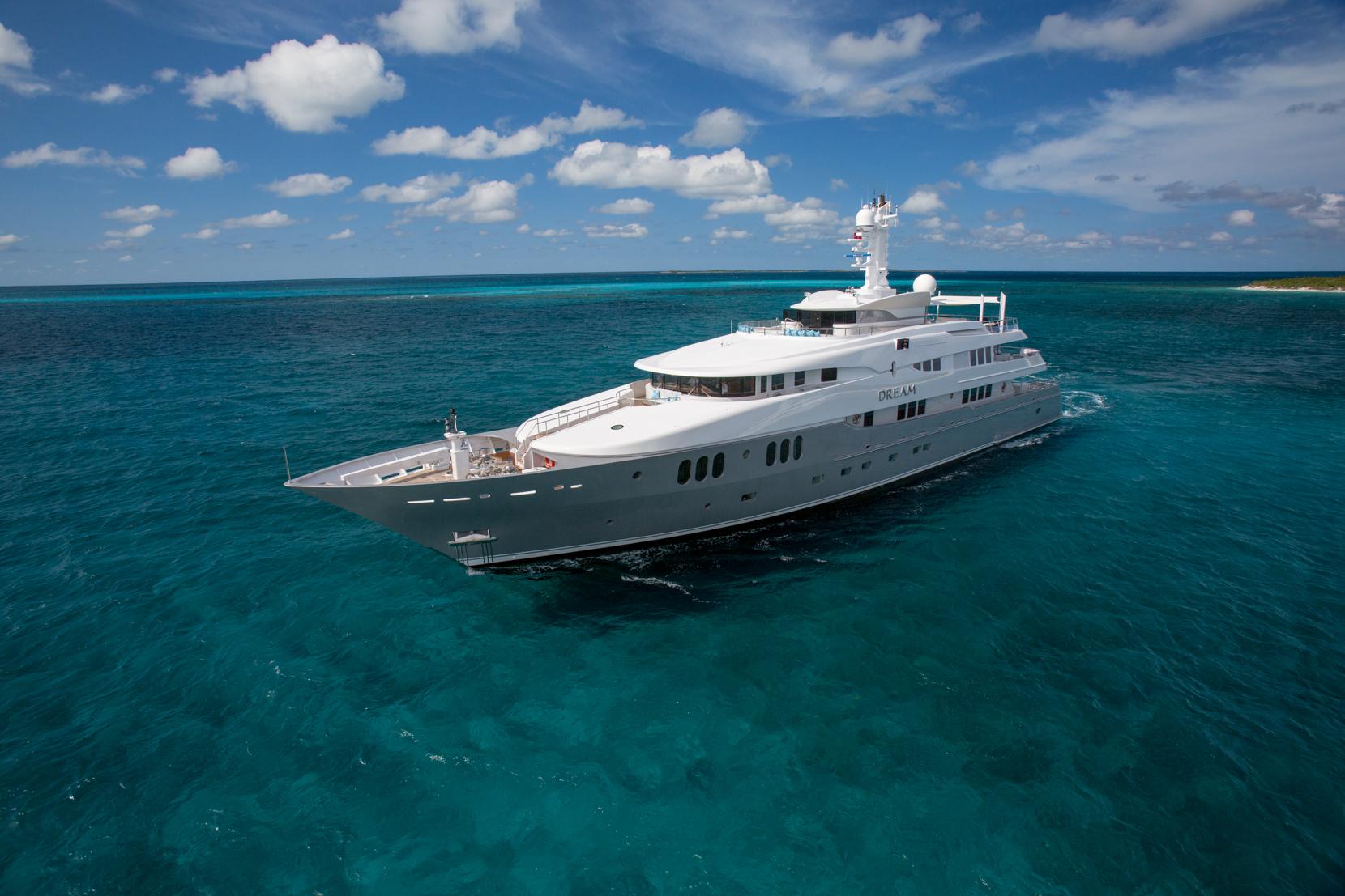 Luxury yacht DREAM - Built by Abeking & Rasmussen