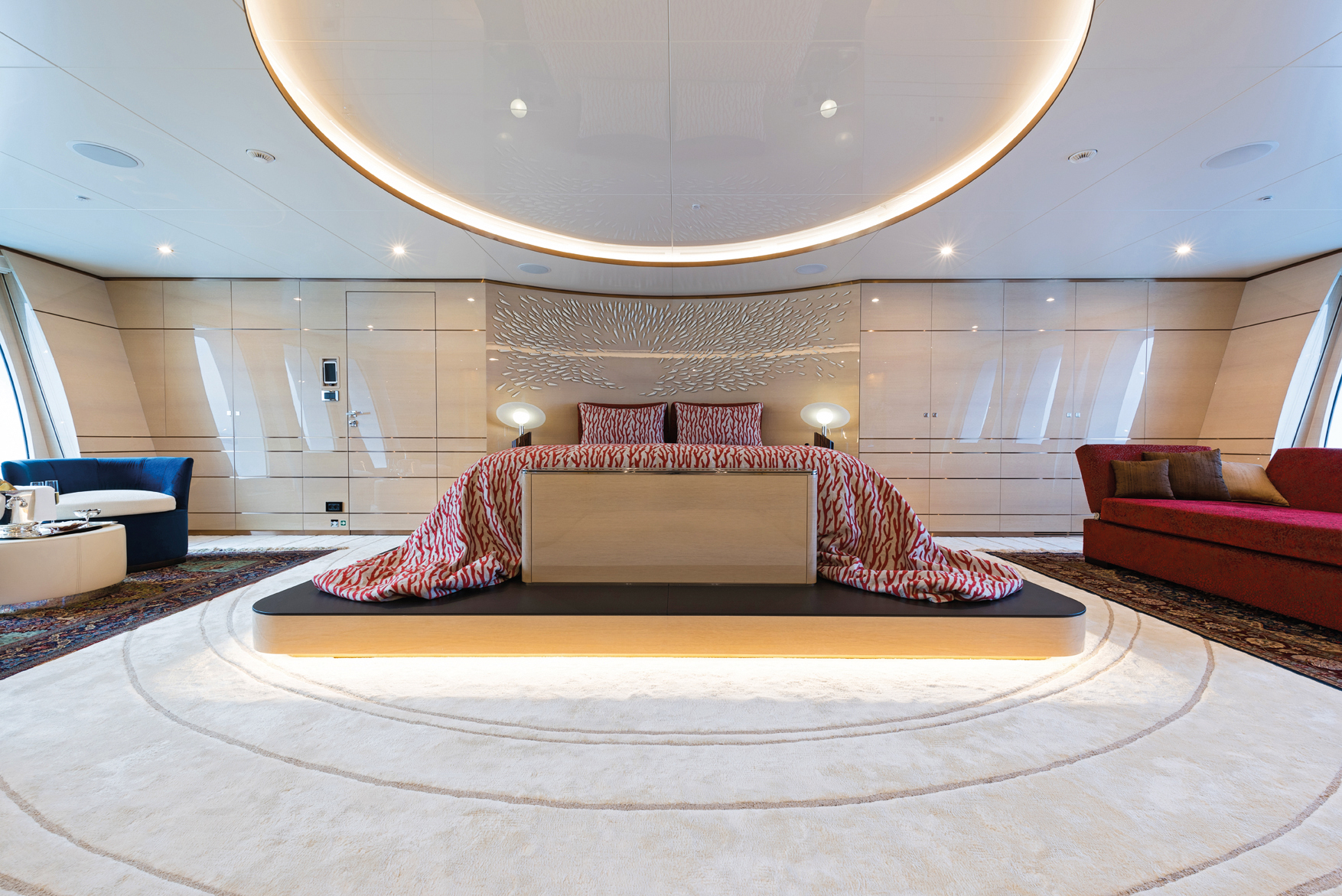 Luxury yacht IRIMARI - Master suite