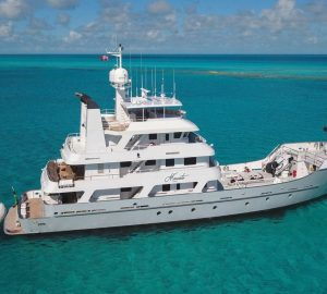 Charter luxury yacht Marcato in New England this autumn