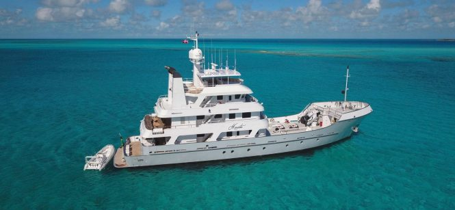 Luxury yacht MARCATO - Built by Hike Metal Products