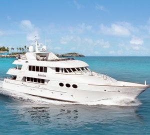 Charter superyacht Relentless in the Bahamas