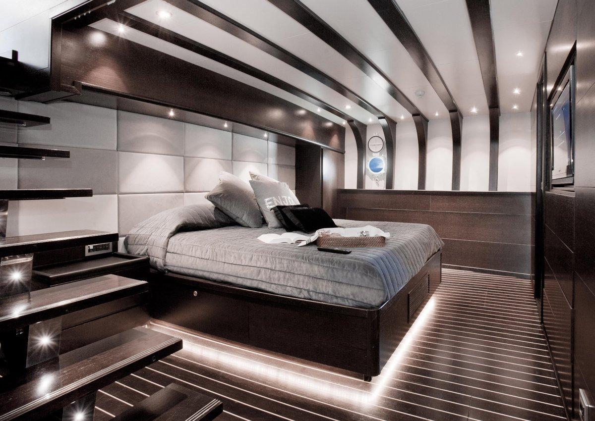 Luxury yacht SEMAYA - Master cabin