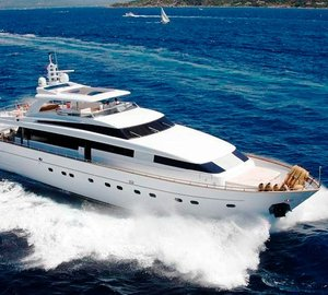 Charter superyacht Sud in the Western Mediterranean
